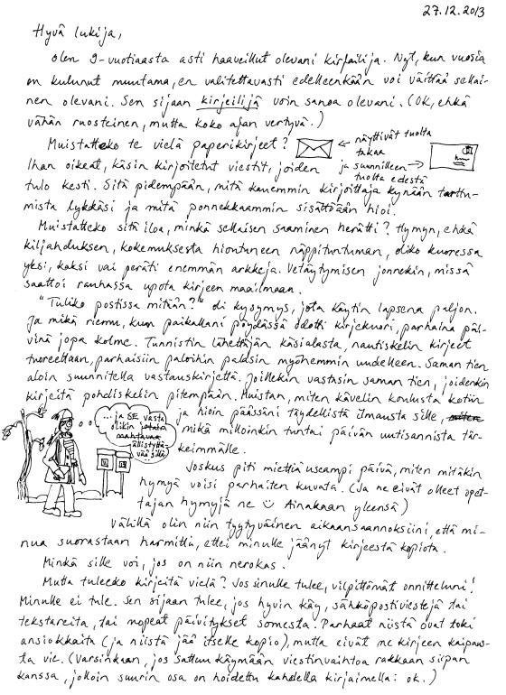 Ensimmäinen kirje, sivu 1