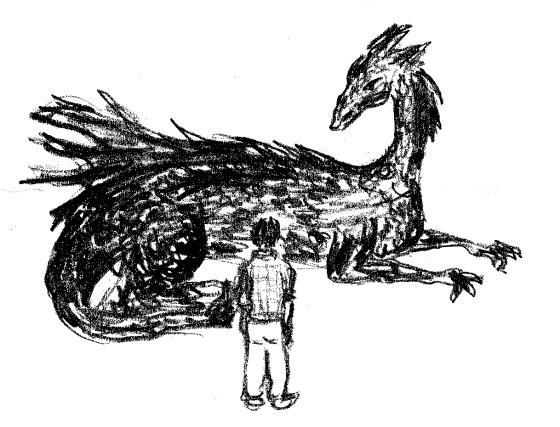 Kevääntekijöiden Lassi tapaa lohikäärme Valkean
